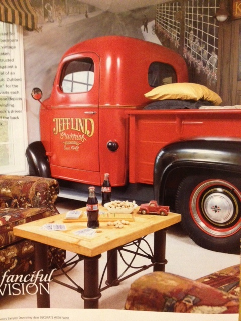 Real Truck Made Into A Kids Bed For The Home Pinterest