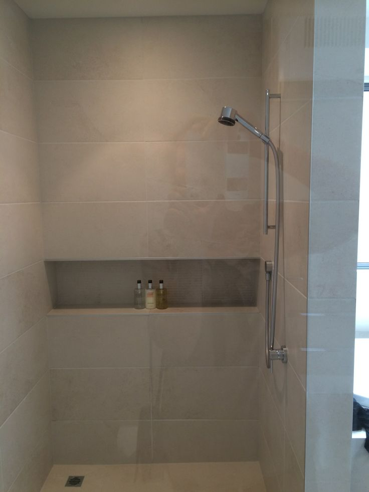 Indent In Shower For Shampoo Bathrooms Pinterest