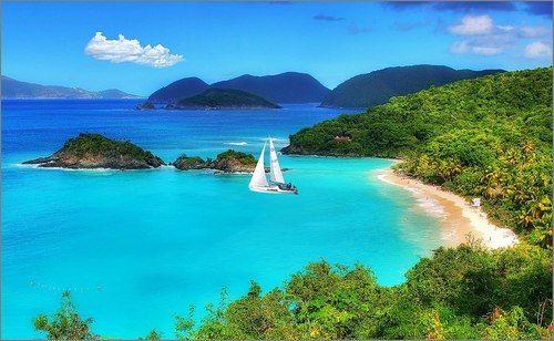 Amerikai Virgin-szigetek, St. John-sziget, Cruz-öböl