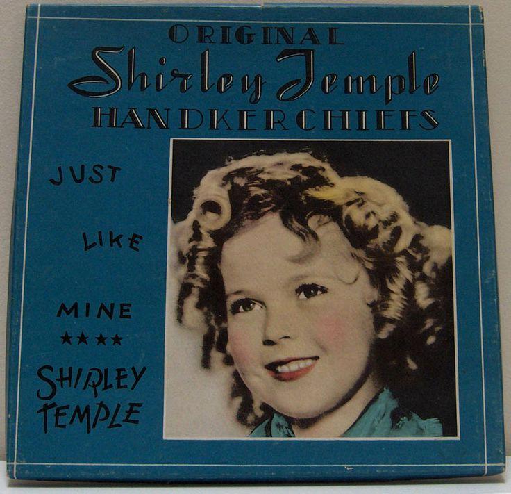 1930's Shirley Temple Handkerchiefs