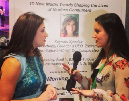 10 New Media Trends Shaping the Lives of Modern Consumers - Keynote with Randi Zuckerberg #CZLNY
