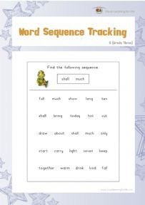 Word Sequence Tracking 5 - Individual File Download