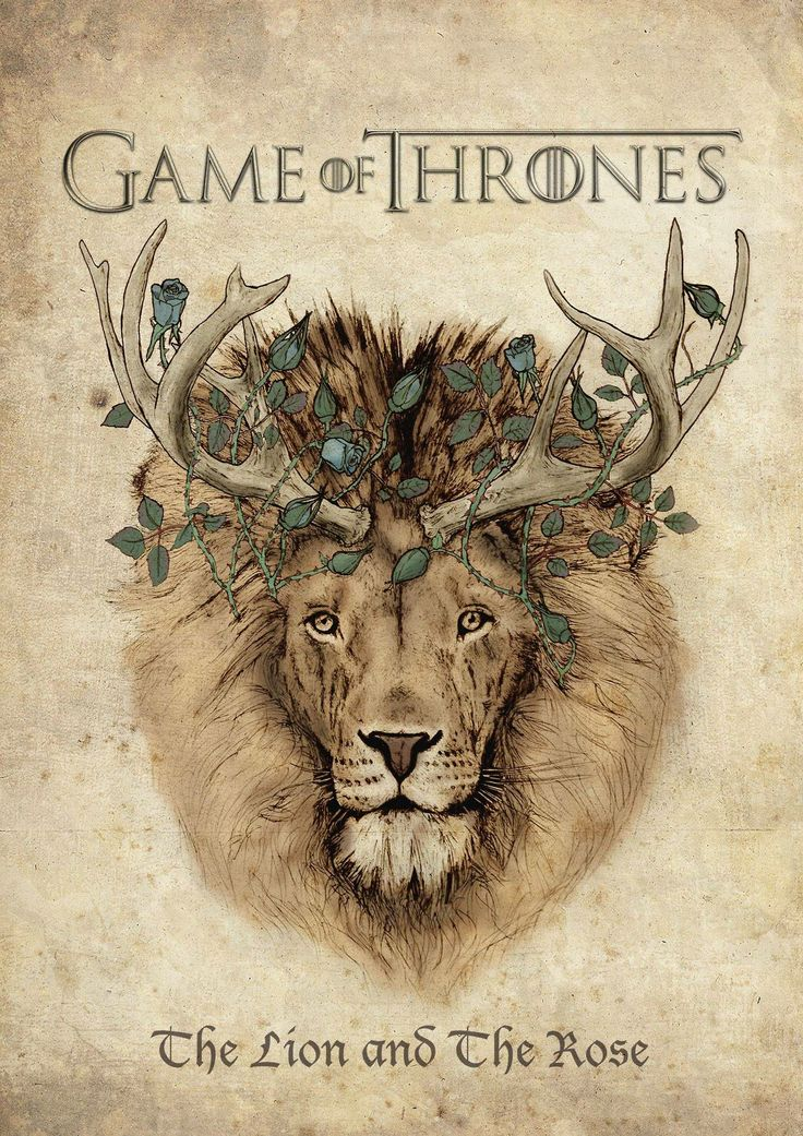 The Lion and The Rose: Awesome Game of Thrones... | Game of Thrones Fan Art