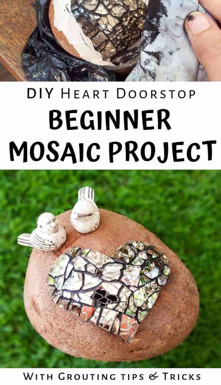 Easy little mosaic doorstop beginners project easy