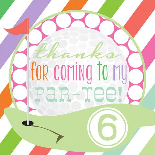 stickers, party favor stickers, miniature golf, golf party decor, mini golf birthday party, golf invites, Party Box Design
