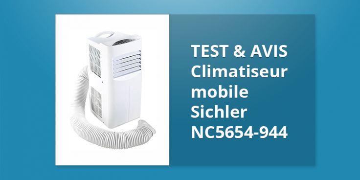 Climatiseur mobile Sichler NC5654-944