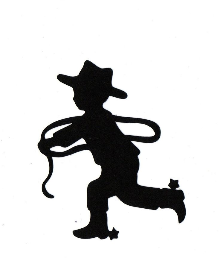 Boy with rope, boots, and cowboy hat.  Great for an SVG file!
