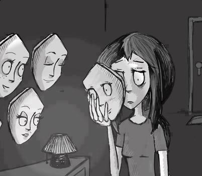 love girl Black and White depressed depression sad suicidal ...