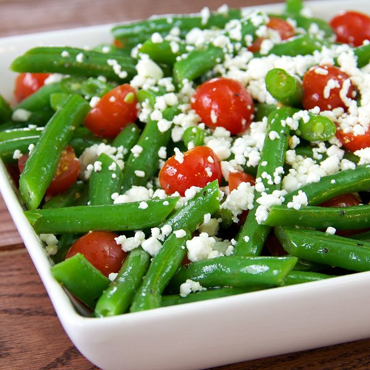 Green Bean Salad with Lemon Pepper Vinaigrette | Recipe | Colors, The ...