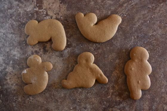 Old Fashioned Gingerbread Cookies with a Twist
