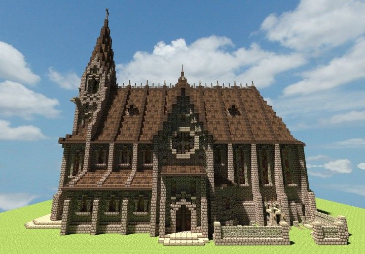 Medieval Church Minecraft Project                                                                                                                                                                                 More