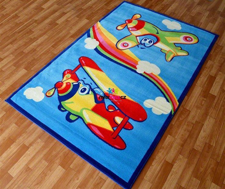 Dětský koberec LETADÝLKA