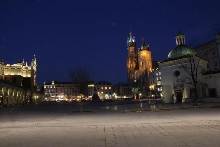 Rynek Główny Wieczorową porą / Main Market evening view