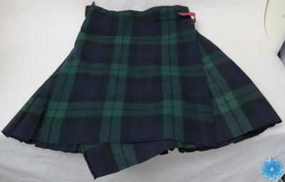 Kilt, The Army Museum. Kilt of the 85th Battalion.