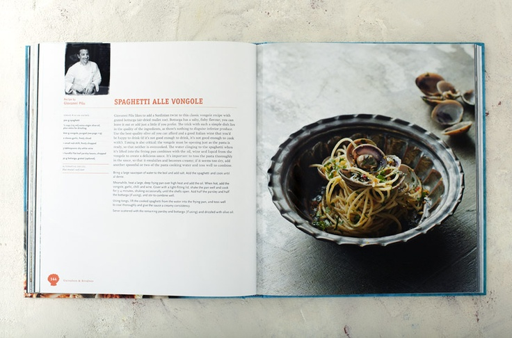 Giovanni Pilu's Spaghetti alle Vongole (from Sydney Seafood School Cookbook   Lantern)