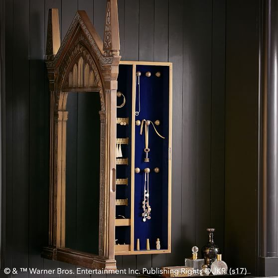 HARRY POTTER MIRROR OF ERISED Jewelry Wall Cabinet #pbteen $399