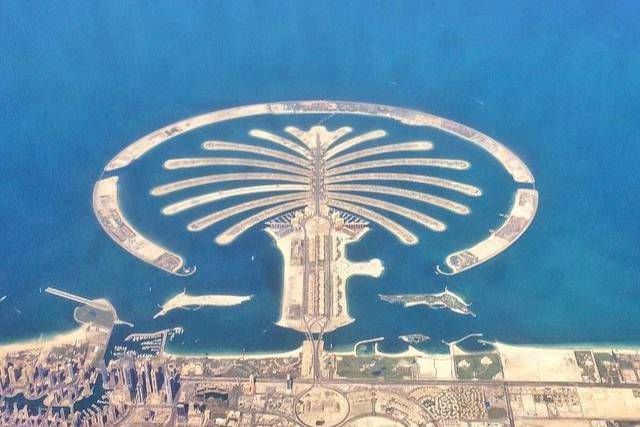 World's Largest Man Made Island- The Palm Jumeirah