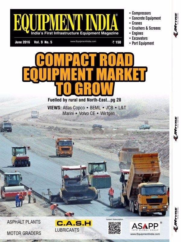 Equipment India June 2016 Issue- Compact Road equipment market to grow  #EquipmentIndia #ConstructionEquipments #RoadConstruction #ebuildin