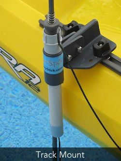 Home of the Skinny Stick, the fastest, easiest kayak anchor system for shallow water