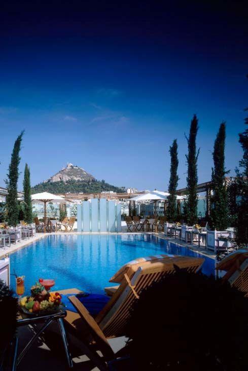 Hotel Grande Bretagne, pool