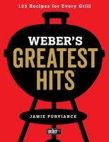 Collects over one hundred barbecue recipes from the grilling company, including such offerings as grilled oysters, Korean beef barbecue, jerk-spiced ribs, and Greek seafood salad. Whether building a better burger or smoking competition-worthy ribs, Weber fans will delight in these classic standards and contemporary inspirations.