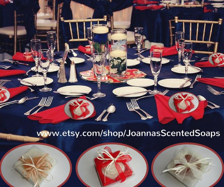 Handmade Wedding Bomboniere or Wedding Favors or Bridal Shower Favors or Engagement Gifts or Party Gifts or Guest Gifts, each containing an artisan luxury scented soap, organza cloth and ribbons matching the soap's color.