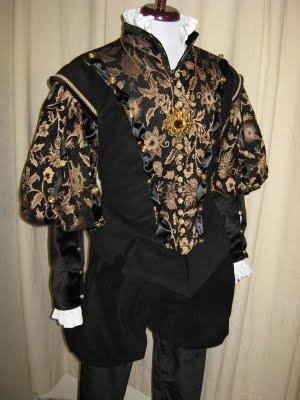 Flashback TV Fashion, Renaissance Collection: Male