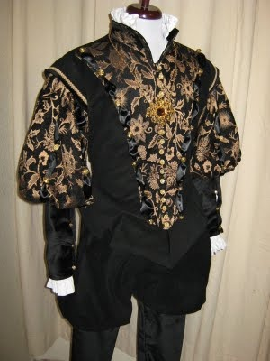 Men's Tudor Doublet and Pants Renaissance Tudor Costume Men's Medieval Renaissance Doublet. Male Costume from the Tudor era.