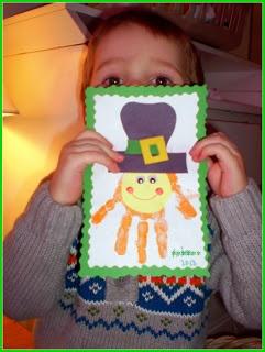 Creative and Curious Kids!: Handprint Leprechaun