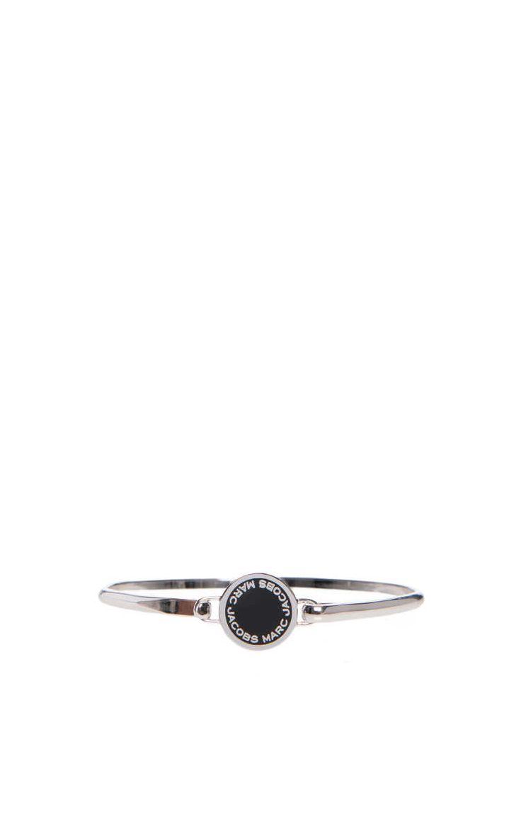 Armband Logo Disc BLACK/SILVER - Marc Jacobs - Designers - Raglady