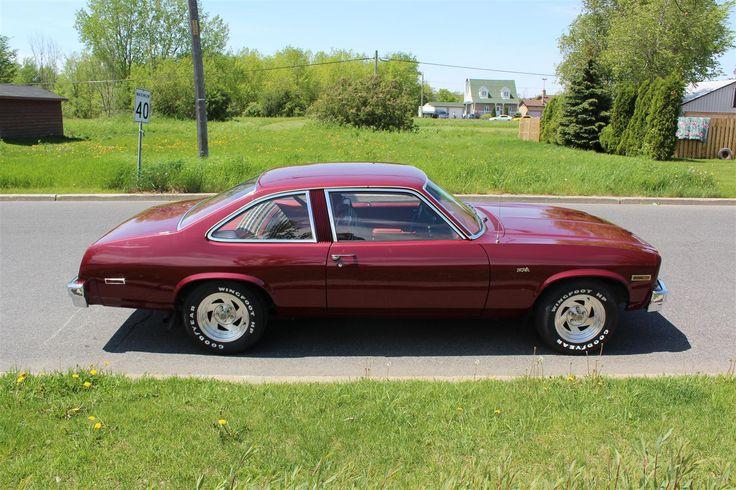 76 nova | VENDRE CHEVROLET NOVA 1976 2PORTE AUTOMATIQUE V8 305 61 000MI ...