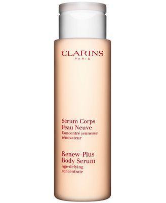 Clarins Renew-Plus Body Serum, 6.8 oz. (for Keratosis Polaris - ie. bumps on back of arms etc) according to Sallie Hughes & Hirons
