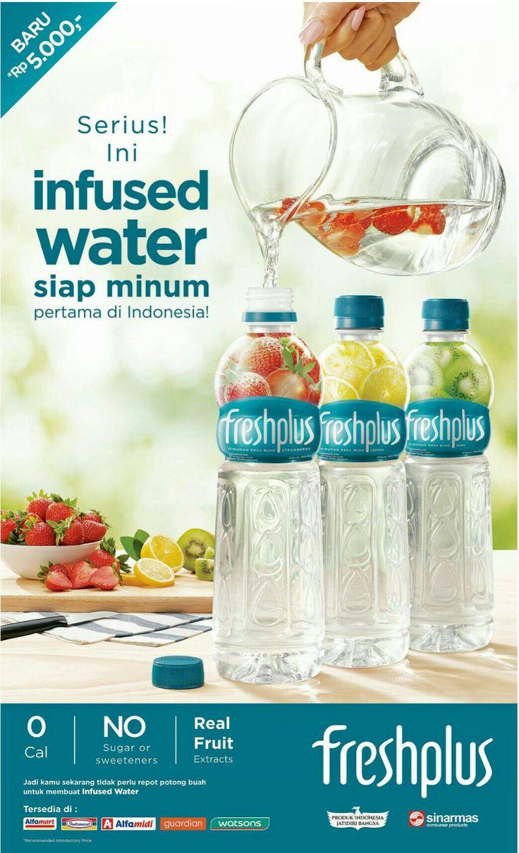 freshplus infused water siap minum