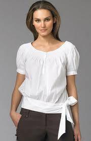 camisas blancas manga corta de mujer - Buscar con Google