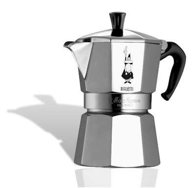 Bialleti Coffee Maker: I think the best small coffee maker is bialetti. When I think of a small coffee maker, Bialetti comes to my mind.  This has been used by our family for