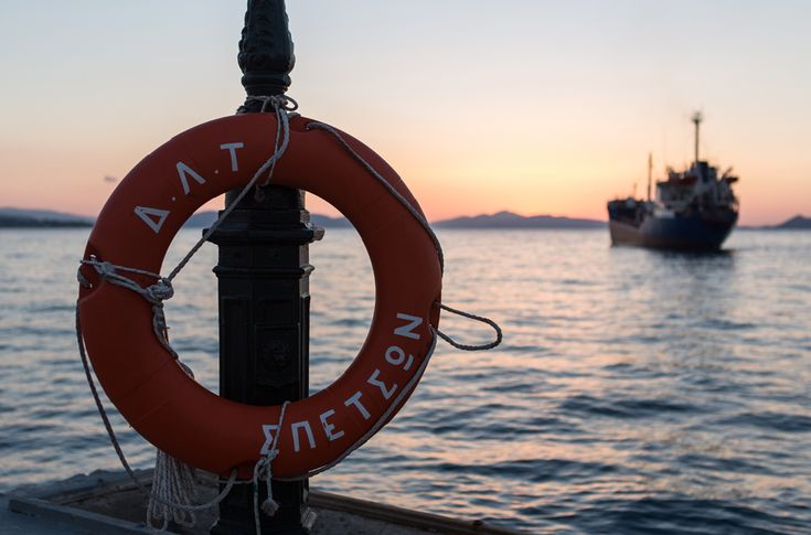 Sunset, Spetses Island, Greece
