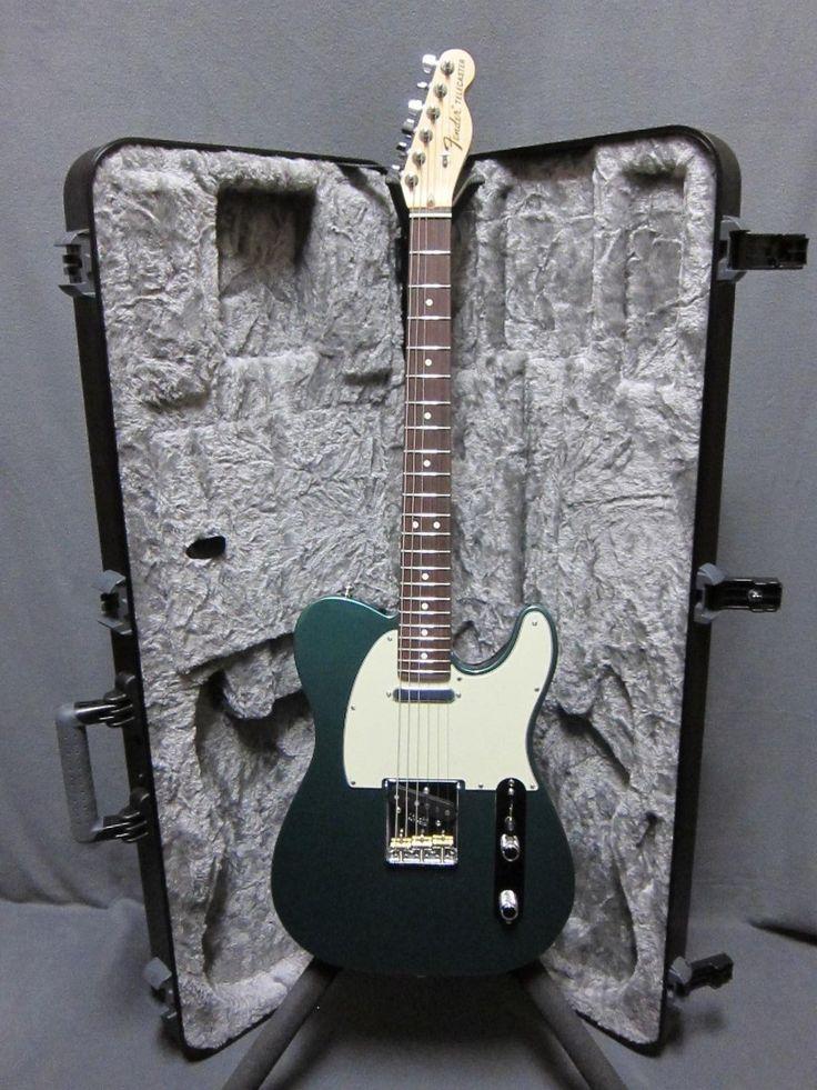 Fender Telecaster 2017 American Special Sherwood Green w/Fender HSC All NOS MINT