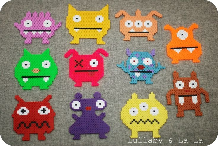 Hama monster.