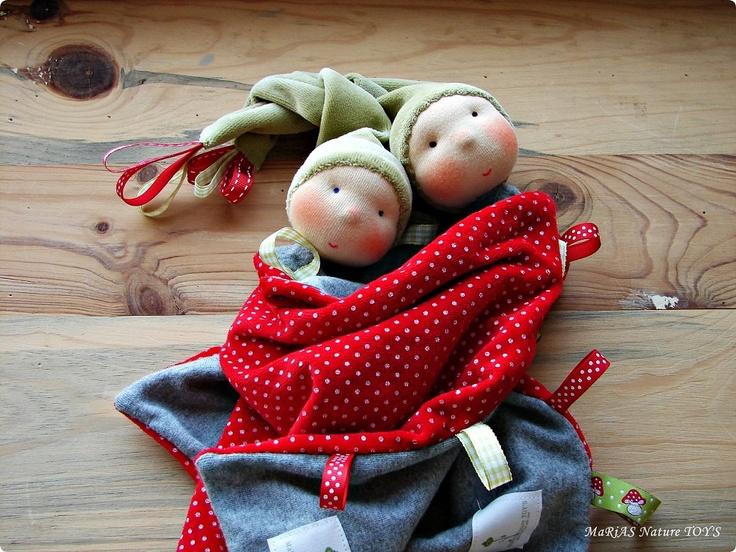 Blanket doll made by Maria Asenova