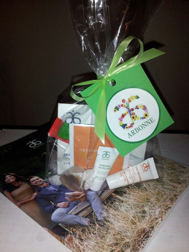 Contact me at www.laurasmith.arbonne.com to make up the perfect gift!