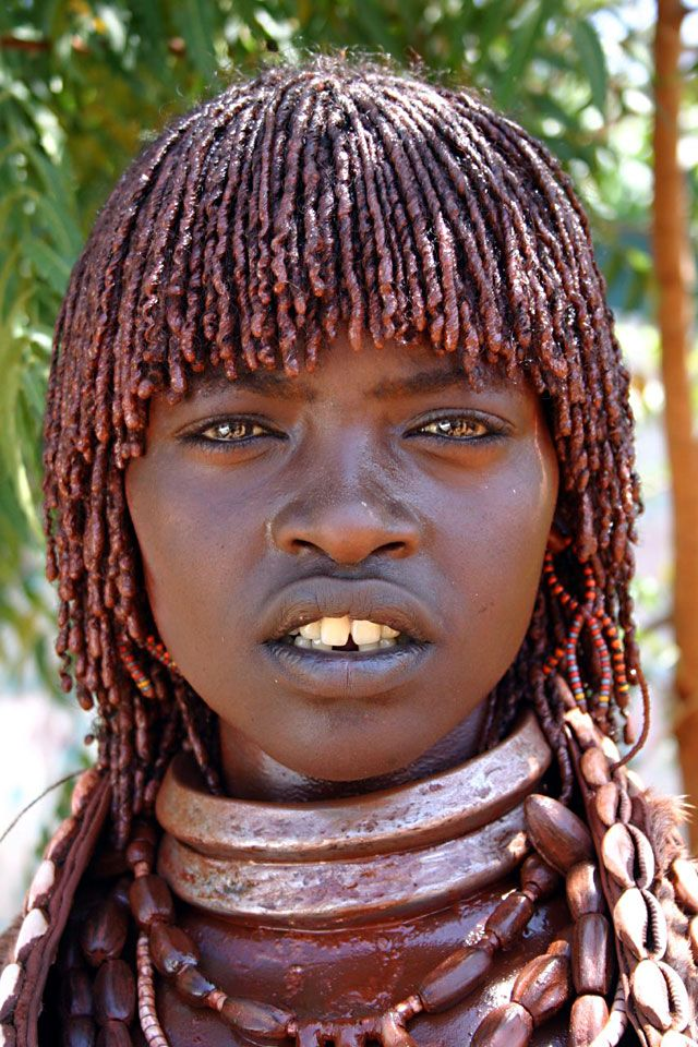 Tribal African Woman   Mujer Africana / African woman ...