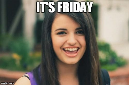 Triggers: Rebecca Black's Friday Video gets a spike in views every ... you guessed it, Friday.
