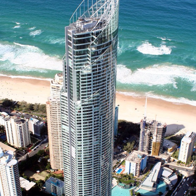 Q1 -Gold coast Australia. 19th largest residential building in the world.
