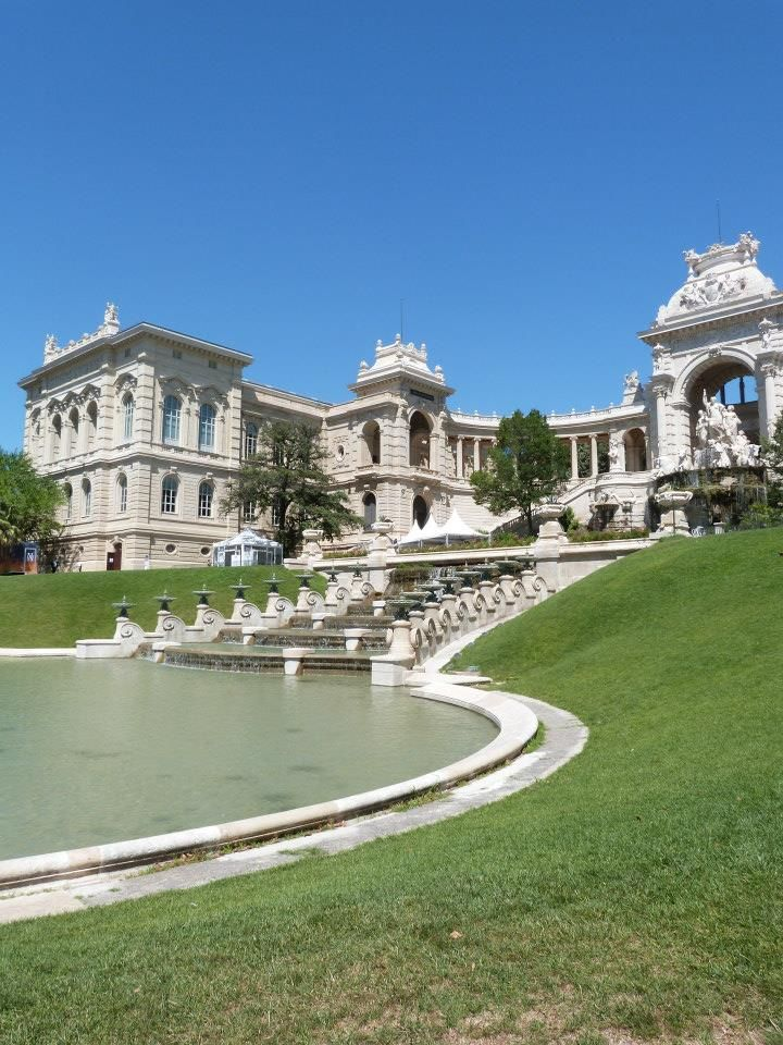 Architecture monumentale du Palais Longchamp...