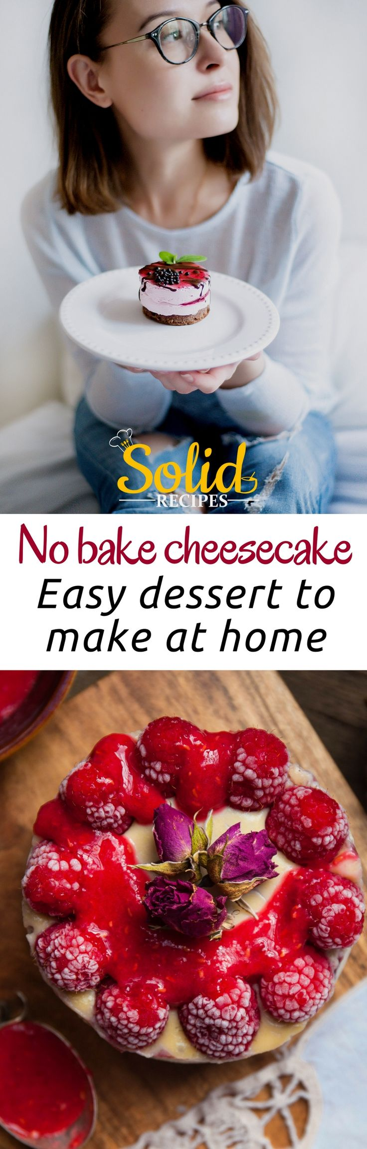 No bake cheesecake – easy dessert to make at home Not always the photos matched the recipe. Cheesecake recipes | cheesecake recipes easy | cheesecake bites | cheesecake recipes classic | cheesecake factory recipes | The Cheesecake Factory | Cheesecake.com | The English Cheesecake Company | Cheesecake Recipes | cheesecake recipes. | CHEESECAKE RECIPES