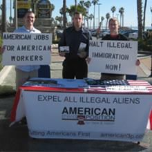 American Freedom Party. The American Freedom Party (formerly American Third Position) is a political party initially established by racist Southern California skinheads that aims to deport immigrants and return the United States to white rule.