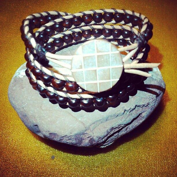 Wooden Bracelet/Triple