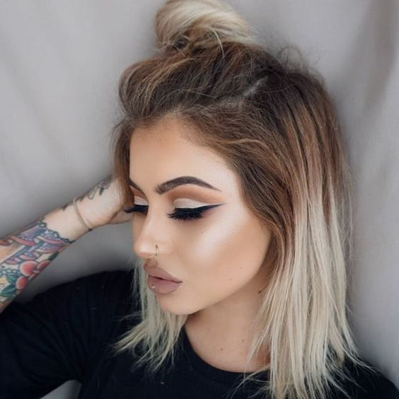 Mocha Cut Crease - Cut Crease Eyeshadow Techniques That Are All Kinds of Chic - Photos