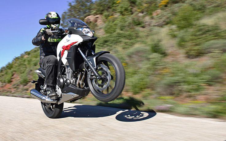 Honda CB500X menetpróba Az Online Motoros magazin | Tesztmotor.hu