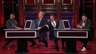 Special Guests Nick Jonas & Usher Help Jeff Daniels & Jimmy Fallon Play The Pyramid! And They Look HOT Doing It!